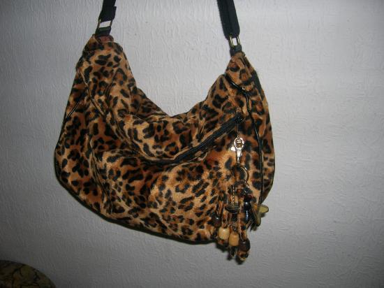 Sac  léopard (vendu)