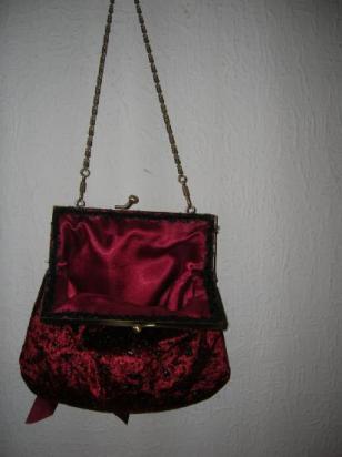 doublure rouge Hermès avec galon