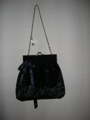 velours bleu nuit (vendue)