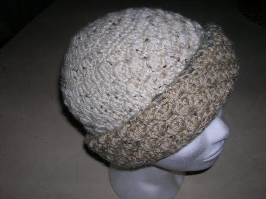 bonnet femme laine naturelle