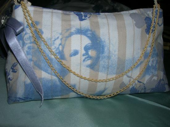 """Trousse """"Ange bleu"""" (vendue)"""