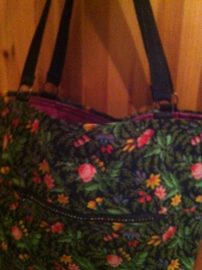 zip avec strass pour sac provençal